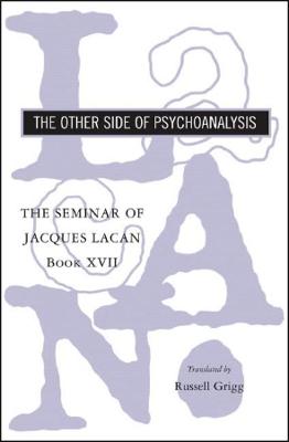 Seminar of Jacques Lacan book