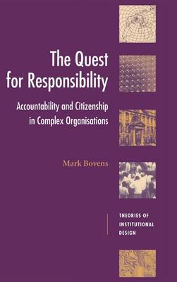 Quest for Responsibility by Mark Bovens