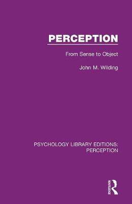 Perception: From Sense to Object book