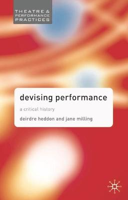 Devising Performance book