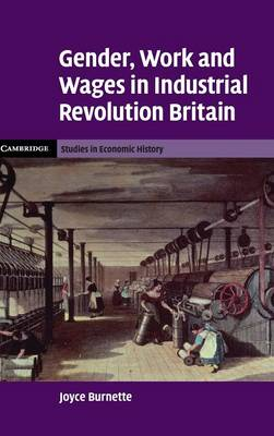 Gender, Work and Wages in Industrial Revolution Britain book