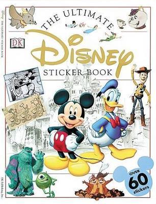 Ultimate Sticker Book: Disney book