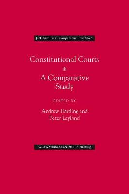 Constitutional Courts by Andrew Harding