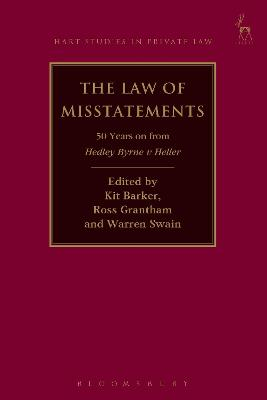 The Law of Misstatements by Kit Barker