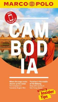Cambodia Marco Polo Pocket Travel Guide 2018 - with pull out map by Marco Polo