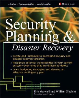 Security Planning and Disaster Recovery by Eric Maiwald