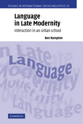 Language in Late Modernity book