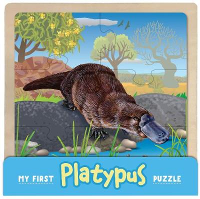 My First Wooden Jigsaw: Platypus by