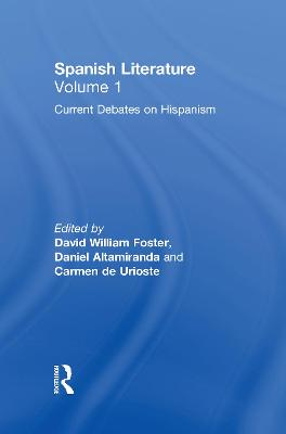 Spanish Literature book