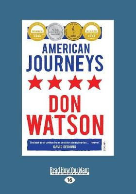 American Journeys by Don Watson
