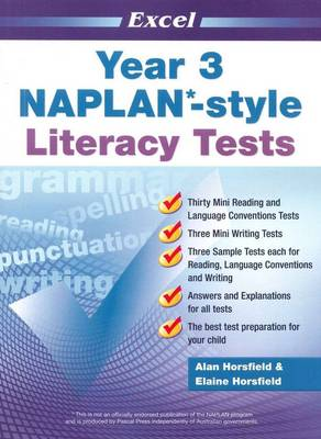 NAPLAN-style Literacy Tests: Year 3 by Alan Horsfield