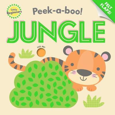 Peek a Boo Felt Flap Book Jungle book