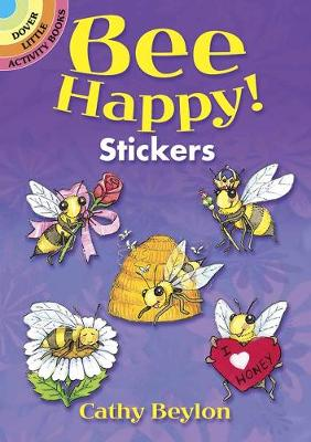 Bee Happy! Stickers by Cathy Beylon