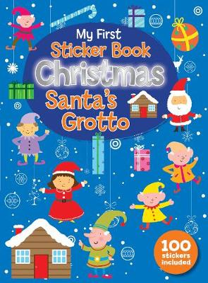 Christmas Sticker Book Santa's Grotto book