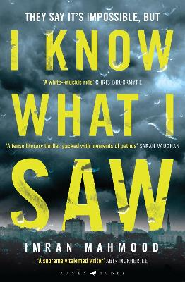 I Know What I Saw: 'A mesmerising thriller. Don't miss this one' - T. M. Logan book