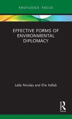 Effective Forms of Environmental Diplomacy book