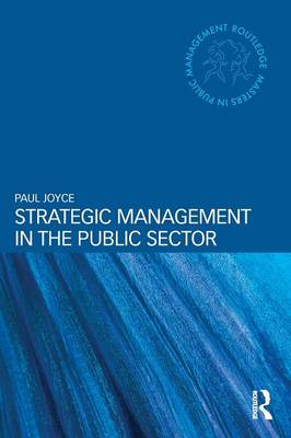 Strategic Management in the Public Sector book
