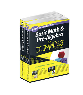 Basic Math and Pre-Algebra: Learn and Practice 2 Book Bundle with 1 Year Online Access by Mark Zegarelli