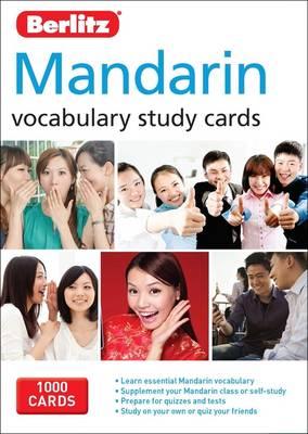 Berlitz Language: Mandarin Vocabulary Study Cards by APA Publications Limited