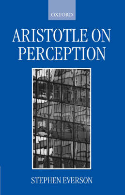 Aristotle on Perception book