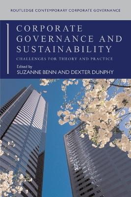 Corporate Governance and Sustainability by Suzanne Benn
