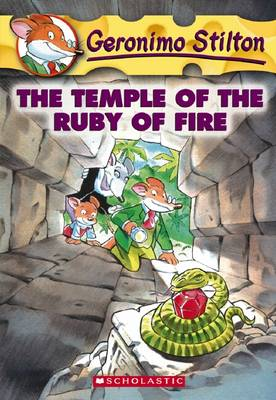 Geronimo Stilton: #14 Temple of the Ruby of Fire book