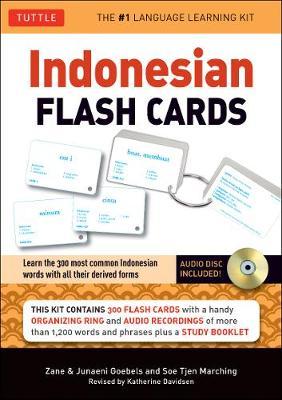 Indonesian Flash Cards by Zane Goebel