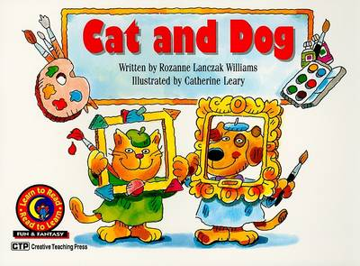 Cat and Dog by Rozanne Lanczak Williams