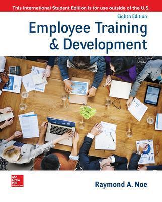 Employee Training & Development by Raymond Andrew Noe
