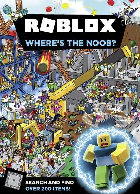 Roblox Where's the Noob? Search and Find Book book