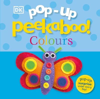 Pop-Up Peekaboo! Colours book