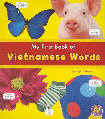 Myfirst Book of Vietnamese Words book