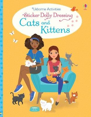 Sticker Dolly Dressing Cats and Kittens by Lucy Bowman