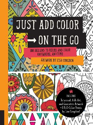 Just Add Color on the Go by Lisa Congdon