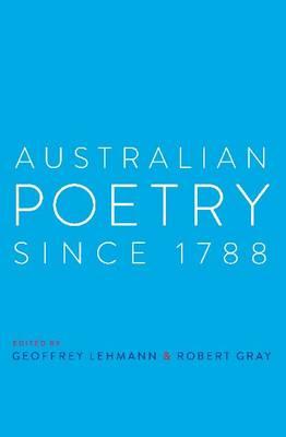 Australian Poetry Since 1788 book