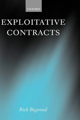 Exploitative Contracts book