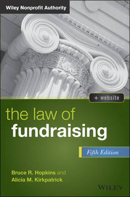 The Law of Fundraising by Bruce R. Hopkins