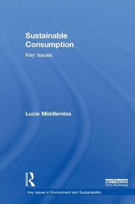 Sustainable Consumption by Lucie Middlemiss