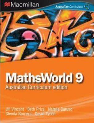 MathsWorld 9 by Jill Vincent