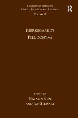 Volume 17: Kierkegaard's Pseudonyms book
