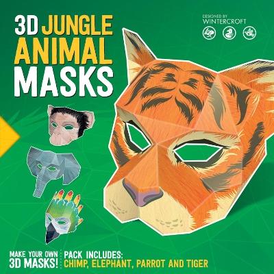 3D Jungle Animal Masks by Steve Wintercroft