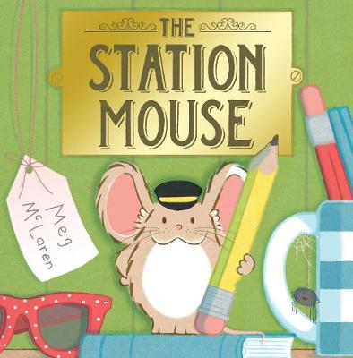 Station Mouse by Meg McLaren
