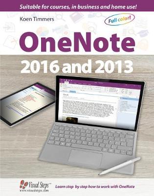Onenote 2016 & 2013 by Studio Visual Steps