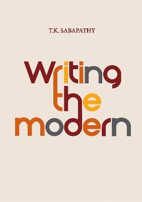 Writing the Modern book