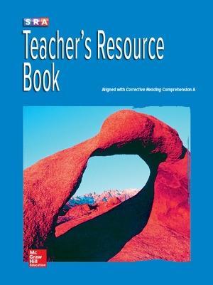 Corrective Reading Comprehension Level A, National Teacher Resource Book book