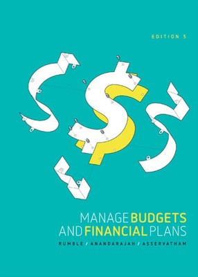 Manage Budgets and Financial Plans by Sharon Rumble