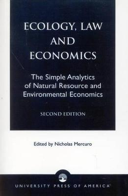 Ecology, Law and Economics book