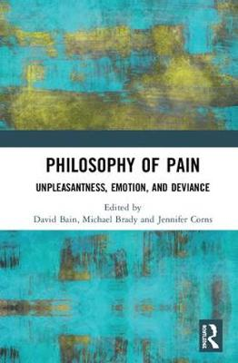 Philosophy of Pain book