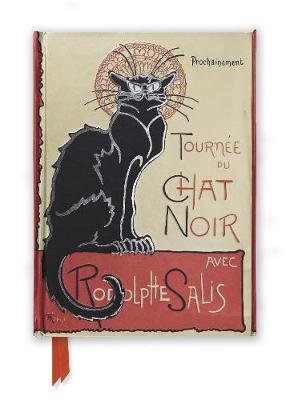 Steinlen: Tournee du Chat Noir (Foiled Journal) by Flame Tree Studio