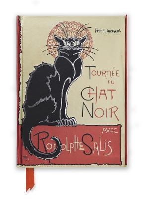 Steinlen: Tournee du Chat Noir (Foiled Journal) by Flame Tree Studio